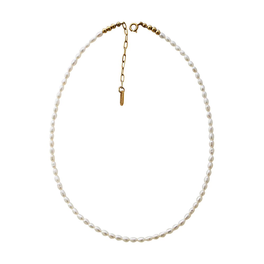 Tawon Pearl Necklace ( 2type )